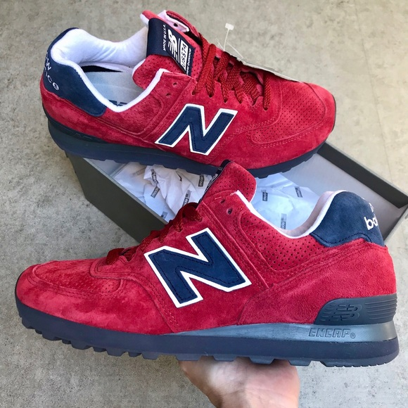 New Balance 574 Classics Made In USA </p>                     </div>                     <!--bof Product URL -->                                         <!--eof Product URL -->                     <!--bof Quantity Discounts table -->                                         <!--eof Quantity Discounts table -->                 </div>                             </div>         </div>     </div>              </form>  <div style=